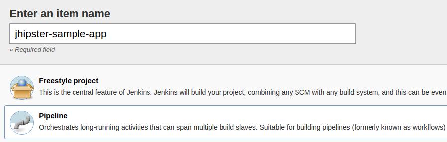 Jenkins2 item